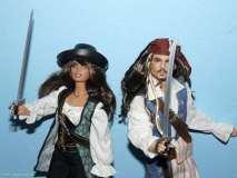 Angelica & cpt. Jack Sparrow
