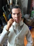 Maľba hlavy Sherlocka - asi finálna verzia...