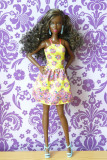 Barbie Fashionistas no.20 Fancy in Flowers - 2016
