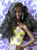 Barbie Fashionistas no.20 Fancy in Flowers - 2016