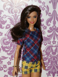 Barbie Fashionistas no.52 Plaid on Plaid - 2017