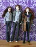Bella Swann, Edward Cullen a Victoria