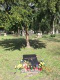 Ondrejský cintorín - Hrob Júliusa Satinskéhi