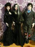 Parnilla, Mortimer a Evangeline