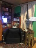 Sherlockova obývačka - krb