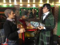 Vianoce u Sherlocka - rozbaľovanie darčekov